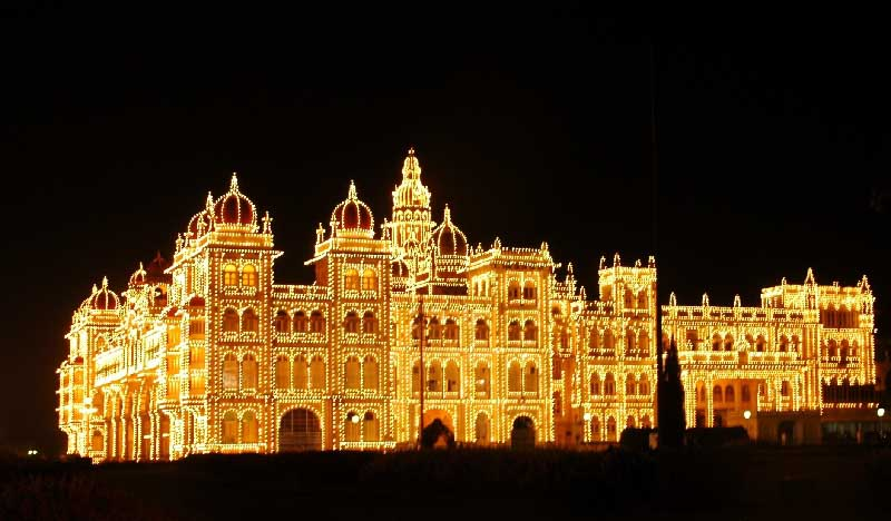 Mysore Palace Sunday Night (5)