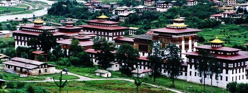 Tashichho-Dzong-of-Thimphu